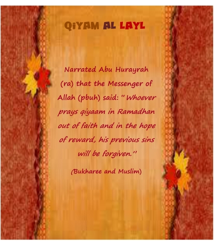 Qiyam al layl