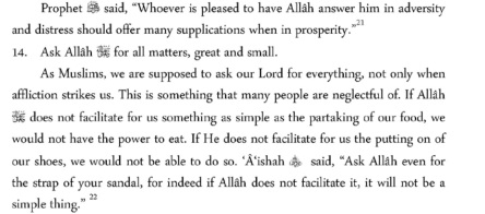 Etiquette of Making Dua9